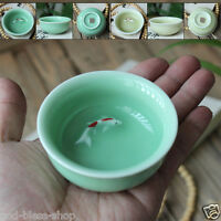 2pcs/lot Chinese tea cup porcelain cup fish set brother kiln china cups for tea