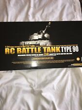 RARE Marui 1/24  JAPAN TYPE 90  R/C  Battle Tank JGSDF R-T-R  BB Shooting (New)