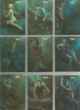 """True Blood Premiere - """"Do Bad Things"""" 9 Card Chase Set D1-D9"""