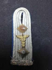 Original WW2 German Army Medical Officers epaulette Shoulder Board REF # 40