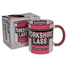 YORKSHIRE LASS MUG - Gift for Yorkshire Girl - Tea Cup Kitchen Home Office BNIB