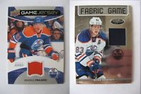 2012-13 Panini Certified FOG-HEM Ales Hemsky 179/299 black fabric of the game