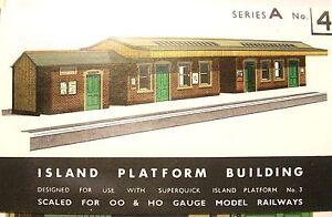 SUPERQUICK ISLAND PLATFORM BUILDINGS   A4
