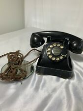 Vintage Western Electric Bell System Black F1 Rotary Dial Phone Telephone