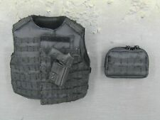1/6 Scale Toy The Expendables - Lee Christmas - Black MOLLE Vest w/Pistol Set