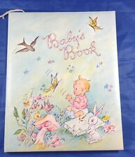 Adorable Vintage 1974 Baby Milestone book - Keepsake Scrapbook