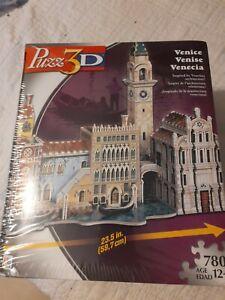 Wrebbit Puzz 3D Venice Venise Venecia 780 pieces 2006 Puzzle New in Sealed Box