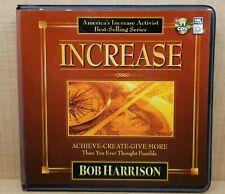 Increase Achieve Create Give More Bob Harrison Audio Book CD