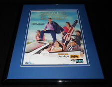 Shahs of Sunset 2012 Bravo Framed 11x14 ORIGINAL Advertisement
