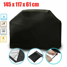 145cm Heavy Duty BBQ Cover Waterproof Barbecue Grill Medium Protector Outdoor