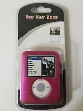 Case For 3 Gen iPod Nano Bright Pink