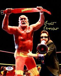 Jimmy Hart autographed signed inscribed 8x10 photo WWE PSA Hulk Hogan