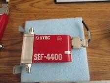STEC:  SEF-4400M-UC-197  MFC.  Gas: SiH2Cl2.  .Cal: N2 C.F.  0.45.  200 CCM <