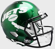NEW YORK JETS NFL Riddell SPEED Full Size Authentic Football Helmet