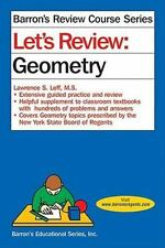 Barron's Let's Review: Geometry by Lawrence S. Leff (2012, Paperback)