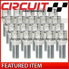Circuit Performance Chrome Hex Lug Bolt 14x1.5 20pc Thin fits BMW Mercedes VW