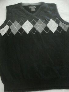 Boys Sweater Vest Dockers Argyle Size 8