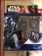 Star Wars: The Force despierta Armadura Figura-primera orden Tie Pilot Elite-Nuevo