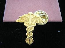 MEDICAL CADUCEUS LAPEL PIN