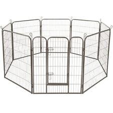 Welpenlaufstall Tierlaufstall Freigehege Welpenauslauf Hund Laufstall 100cm hoch