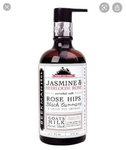Beekman 1802  Jasmine Heirloom Rose Milk Hand Wash 12.5 fL. oz. Pump Retired