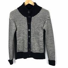 BANANA REPUBLIC Size S Cotton/Merino Wool Chunky Knit Button-Down Cardigan VGC