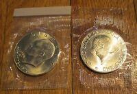 1976 S Eisenhower Dollar Uncirculated 40 % Silver Original Cello US Mint