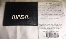 Coach NWT Men's Nasa Collection ID Card Case Black F29297 Gift Receipt
