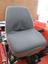 Kubota Tractor One Piece Seat Cover in Automotive twill with insulated backing