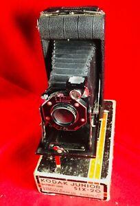 KODAK JUNIOR SIX-20 CAMERA WITH BOX.
