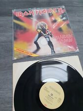 Iron Maiden Maiden Japan signed by the band