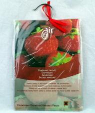 9x Active Air Erdbeere Duftkissen mit Bügel für Gardrobe oder Überall