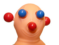 Panic Pete Stress Reliever Hand Toy