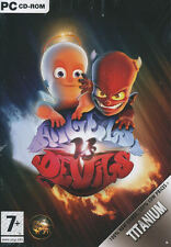 ANGELS VS DEVIL - Rare Heaven Versus Hell Arcade RPG Strategy PC Game - NEW!