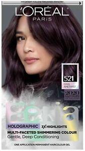L'Oreal Paris Superior Preference Permanent Hair Color Cool Amethyst 521 Purple