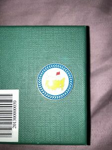"""2013 Masters Championship 1"""" Coin Style Golf Marker - Augusta National Green"""