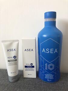 ASEA REDOX Drink Cell Health Breakthrough Anti-aging 1000ml +Renu 28 Gel 90ml
