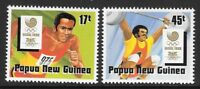 PAPUA NEW GUINEA SG583/4 1988 OLYMPIC GAMES MNH