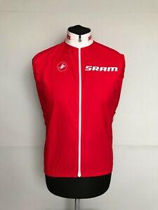 CASTELLI SRAM Cycling Vest Gore Windstopper Size M - EXCELLENT
