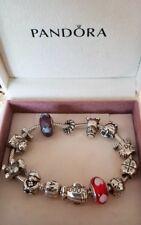 Orginal Pandora Charm Armband mit 13 Orginal Pandora Beads