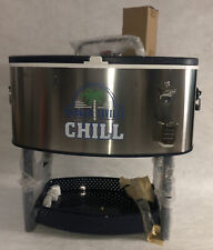 Margaritaville Rolling Oval Stainless Steel Cooler - 77-Qt. Capacity