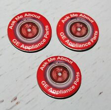 Ask Me About GE APPLIANCE PARTS Button Pin Lot HOME DEPOT Employee - GE Stove