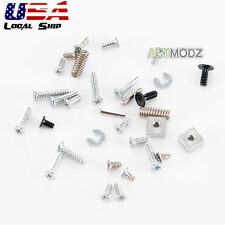 Repair Parts Full Set Of Screws L/R Spring Metal Pillar for 3DS Console
