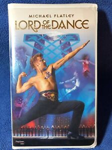 LORD OF THE DANCE MICHAEL FLATLEY (VHS 1997) Original Clamshell Case