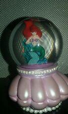 Disney's The Little Mermaid Princess Ariel Snowglobe Snow Globe Crystal Ball