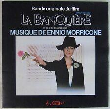 Ennio Morricone 33 tours La banquière Romy Schneider 1980