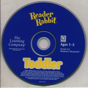 Reader Rabbit Toddler V3.0  First steps into a world of learning   New CD