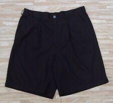 "Nike Golf FitDry Black Shorts ~ Men's Size 36 ~ 20.75"" Dri-Fit"