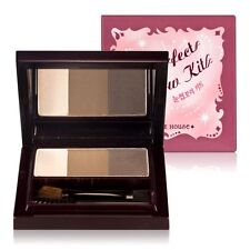 [Etude House] Perfect Brow Kit 3-Step Eyebrow (Dual Color Brow + Highlighter)