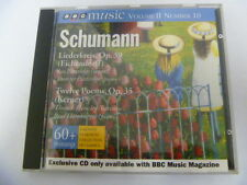 SCHUMANN LIEDERKREIS TWELVE POEMS  OUT OF PRINT BBC FREEPOST CD
